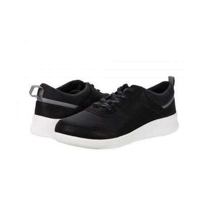 Clarks クラークス レディース 女性用 シューズ 靴 スニーカー 運動靴 Sillian 2.0 Kae - Black Textile