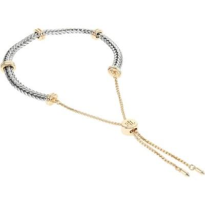 ラルフ ローレン LAUREN Ralph Lauren レディース ブレスレット ジュエリー・アクセサリー Herringbone Adjustable Slider Bracelet Two Tone