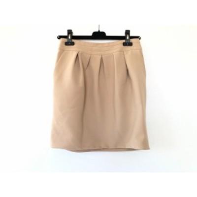 ボディドレッシングデラックス BODY DRESSING Deluxe ミニスカート サイズ38 M レディース ライトブラウン【還元祭対象】【中古】