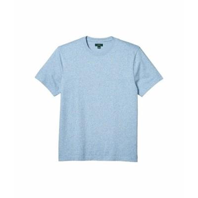 ジェイクルー シャツ トップス メンズ Heritage Jersey Short Sleeve Marled No Pocket Tee Marled Sky Blue
