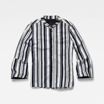 gstar ジースター ファッション 女性用ウェア ブラウスやシャツ gstar deline-straight-cropped-sleeve