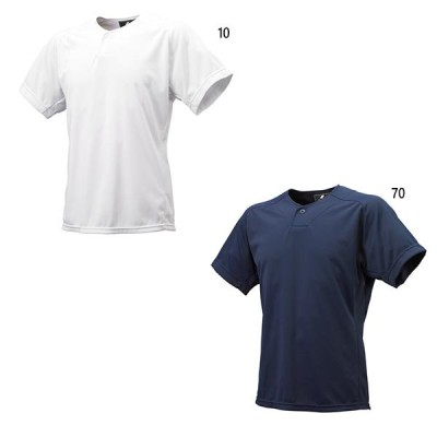 エスエスケイ野球 ジュニア キッズ 1ボタンベースボールTシャツ 野球ウェア トップス 半袖 UVカット BT2310J