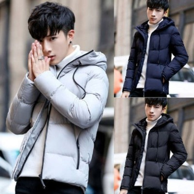 ジャケット メンズ おしゃれ 中綿ジャケット アウター 中学生 高校生 10代 20代 ジャンパー 大きいサイズ 韓国ファッション 黒 ブラック 3302