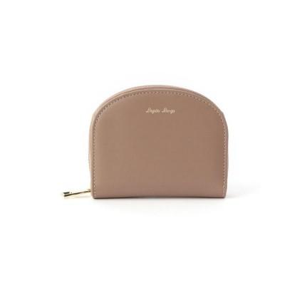ITS' DEMO(イッツデモ) ハーフムーン型二つ折り財布