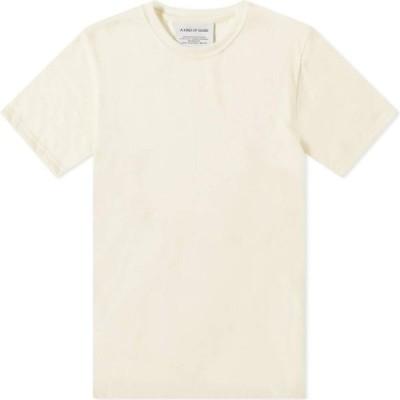 ア カインド オブ ガイズ A Kind of Guise メンズ Tシャツ トップス Fara Merino Tee Off White