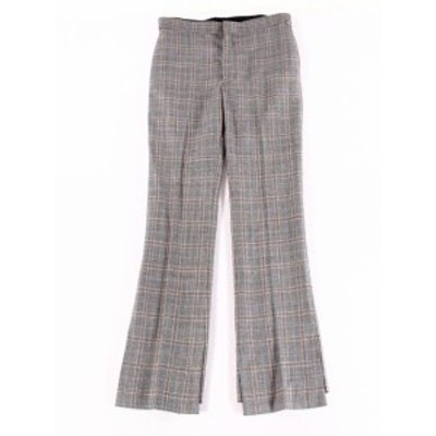 TOGA トガ ファッション パンツ TOGA PULLA Archives Womens Gray Size 36X32 Plaid Dress Pants Wool