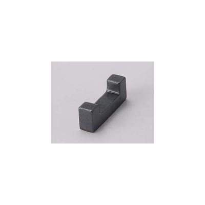和食器 カ282-427 ブロックコの字黒箸置