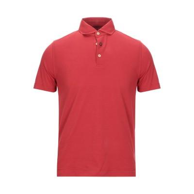 ヘリテージ HERITAGE ポロシャツ レッド 48 コットン 95% / ポリウレタン 5% ポロシャツ