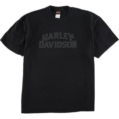 ヘインズ ハーレーダビッドソン Tシャツ USA製 XXL /eaa024567