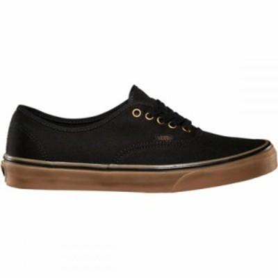 ヴァンズ スニーカー Authentic Shoes Black/Rubber