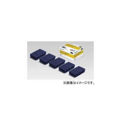 スリーエム/3M スコッチ・ブライト/Scotch-Bright ケレンパッド K/PAD カラー:青 サイズ:70×110(mm) 入数:1箱 (5枚入)