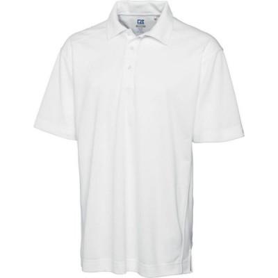 カッター&バック Cutter & Buck メンズ ポロシャツ 大きいサイズ トップス Big & Tall Drytec Genre Polo White
