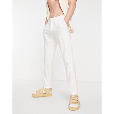 トミー ヒルフィガー メンズ カジュアルパンツ ボトムス Tommy Hilfiger leo linen pants
