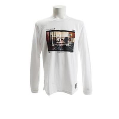 Tシャツ メンズ 長袖 PHOTO 18 869R8CD3313 WHT オンライン価格