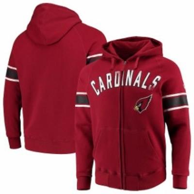 Hands High ハンズ ハイ スポーツ用品  Hands High Arizona Cardinals Cardinal Arena Full-Zip Hoodie