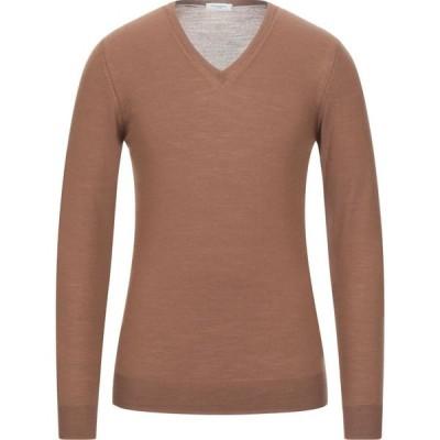 パオロ ペコラ PAOLO PECORA メンズ ニット・セーター トップス sweater Brown