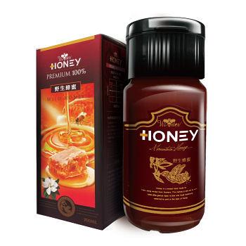 台灣綠源寶 野生蜂蜜 700毫升 6罐
