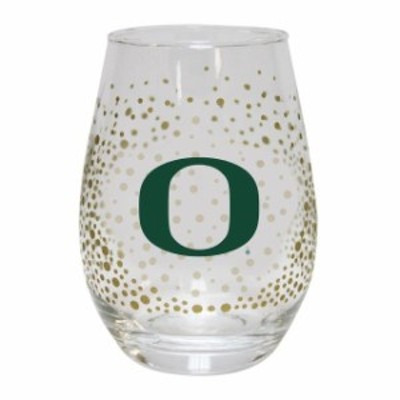 The Memory Company ザ メモリー カンパニー スポーツ用品  Oregon Ducks Glitter Stemless Tumbler