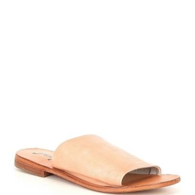 フリーピープル レディース サンダル シューズ Vicente Leather Slide Sandals Natural
