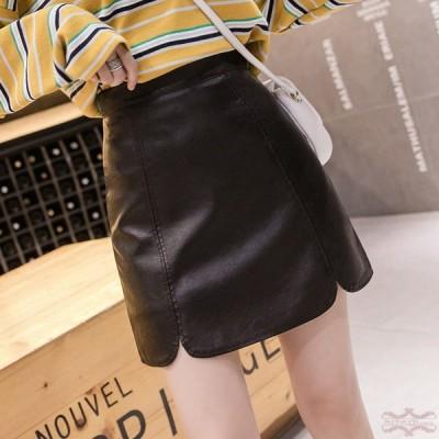 レザースカート タイトスカート ミニレザースカート レザー PU スカート 30代 40代 ペンシルスカート ハイウエスト おしゃれ 美脚 ボトムス 大きいサイズ