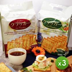 【HupSeng】滿足感蘇打餅(原味/甜味)_任選3包
