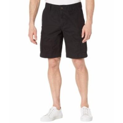 トミー ヒルフィガー メンズ ハーフパンツ・ショーツ ボトムス Six-Pocket Cargo Shorts Th Deep Black