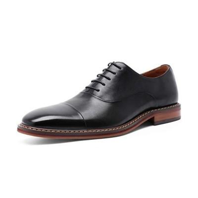 フォクスセンス ビジネスシューズ 本革 ストレートチップ 革靴 紳士靴 メンズ ドレスシューズ 内羽根 ブラック 26.0CM DS9009