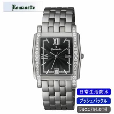 【ROMANETTE】ロマネッティ メンズ腕時計RE-3519M-1 アナログ表示 スイス製ムーブ 日常生活用防水 /5点入り(代引き不可)【送料無料】