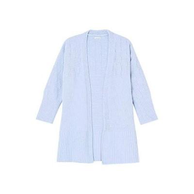 ウンナナクール ナイトガウン モコモコルーム ichimatsu knit レディース PU M-L