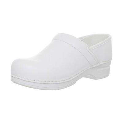 Dansko Women's Pro XP Clog,White,40 EU/9.5-10 M US【並行輸入品】