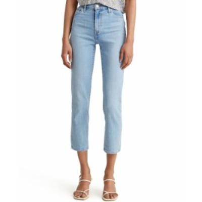 リーバイス レディース デニムパンツ ボトムス Women's 724 Straight-Leg Cropped Jeans Azure Fain
