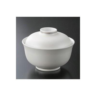和食器 / 蓋向 パール円菓子碗 寸法:13.1 x 10cm 強化