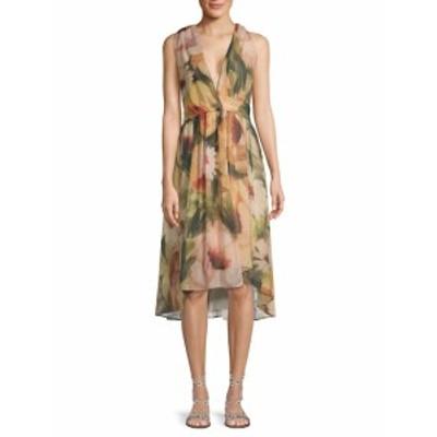 オートヒッピー レディース ワンピース Floral Wrap Dress