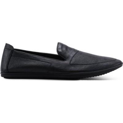 ルイス カッパー Louis Cuppers メンズ スリッポン・フラット シューズ・靴 Meshy Slip Ons Black