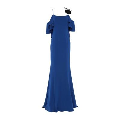ALLURE ロングワンピース&ドレス ブライトブルー 6 ポリエステル 95% / ポリウレタン 5% ロングワンピース&ドレス