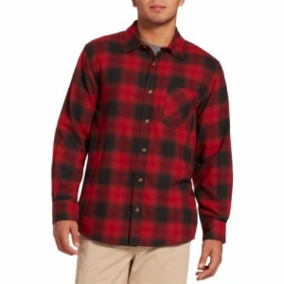 フィールドアンドストリーム Field and Stream メンズ シャツ Classic Lightweight Flannel Button Up Long Sleeve Shirt (Regular and B