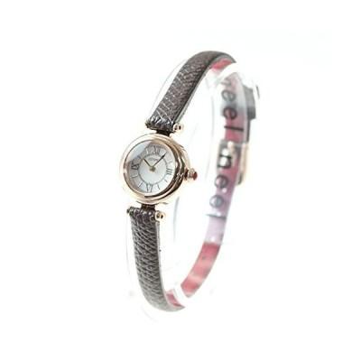シチズンCITIZEN キー Kii: エコドライブ ラウンドモデル 腕時計 レディース EG7083-04W