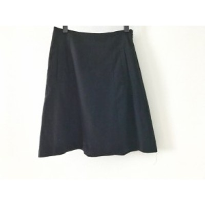 セオリー theory スカート サイズ0 XS レディース 黒【中古】