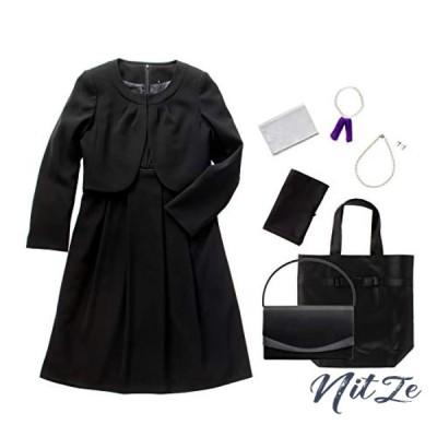 (マーガレット)m426 ブラックフォーマル レディース 喪服 アンサンブル ワンピース 礼服 洗える 冠婚葬祭【7