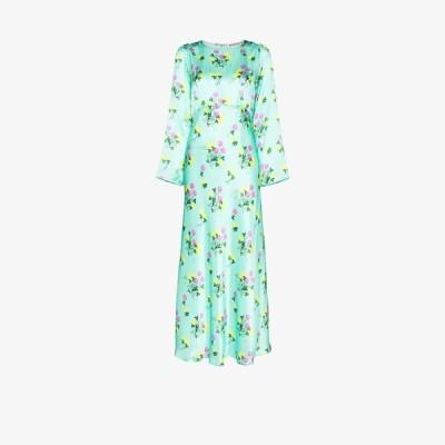 ベルナデッタ Bernadette レディース ワンピース ワンピース・ドレス Jane floral print silk dress green