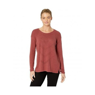 Prana プラナ レディース 女性用 ファッション セーター Mainspring Sweater - Mulled Wine Heather