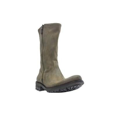 メンズ ブーツ エヌディーシー N.D.C. メンズ SAND DISTRESSED レザー LUG SOLE ミドル丈 ブーツ