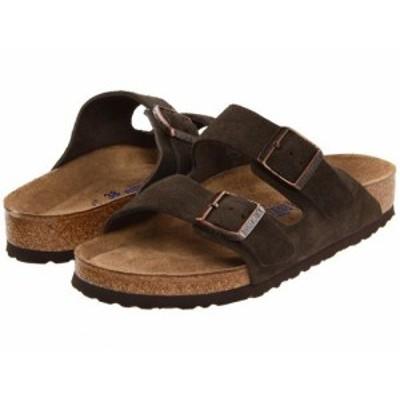Birkenstock ビルケンシュトック レディース 女性用 シューズ 靴 サンダル Arizona Soft Footbed Suede (Unisex) Mocha【送料無料】