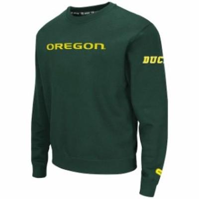 Colosseum コロセウム スポーツ用品  Colosseum Oregon Ducks Green Zone II Crewneck Sweatshirt