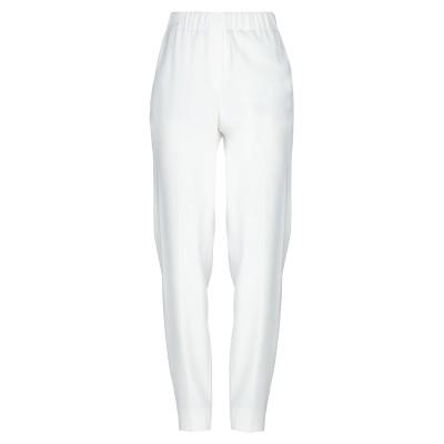 インコテックス INCOTEX パンツ ホワイト 44 レーヨン 78% / アセテート 18% / ポリウレタン 4% パンツ