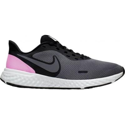ナイキ Nike レディース ランニング・ウォーキング シューズ・靴 Revolution 5 Running Shoes Black/Pink/Grey