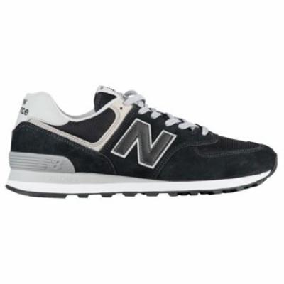 (取寄)ニューバランス スニーカー メンズ シューズ 574 クラシック New Balance Men's Shoes 574 Classic Black Gray White