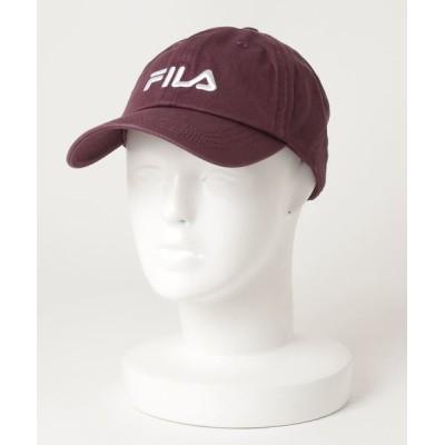A BAG OF CHIPS / FILA/フィラ LINEAR LOGO LOW CAP MEN 帽子 > キャップ