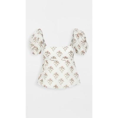 ブロック コレクション Brock Collection レディース ブラウス・シャツ トップス Roseto Shirt Natural