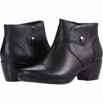 クラークス Clarks レディース シューズ・靴 Emily Calle Black Leather